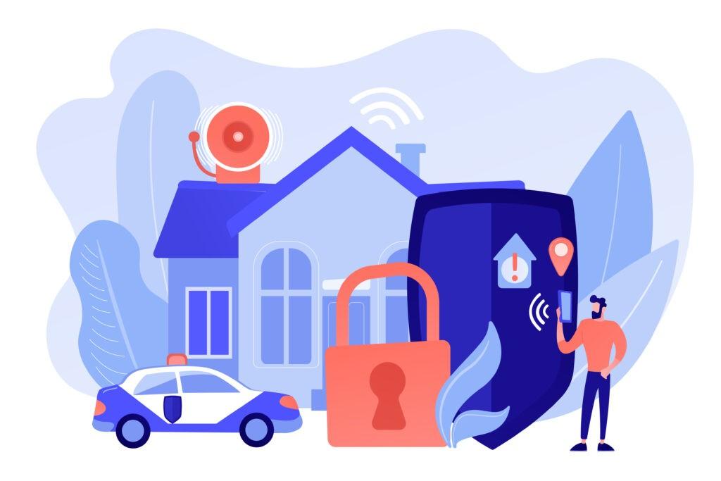 Физическая охрана квартир, домов и коттеджей